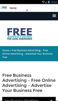 freebusinessadvertisinguk screenshot 5