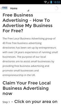 freebusinessadvertisinguk screenshot 6