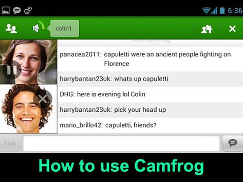 Guide Free Camfrog Chat Video poster