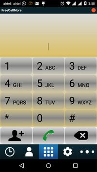 FreeCallMore apk screenshot