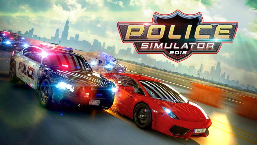 Car Chase Games: POLICE CAR CHASE SIMULATOR 2K18