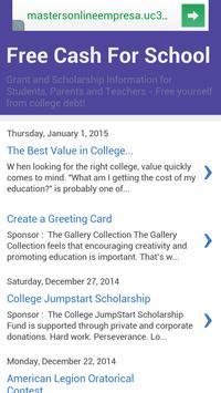 Free Cash For School screenshot 8