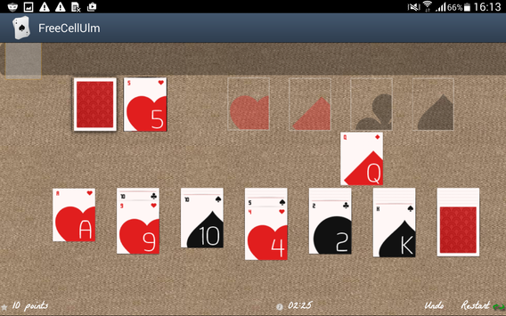 Free Solitaire screenshot 3