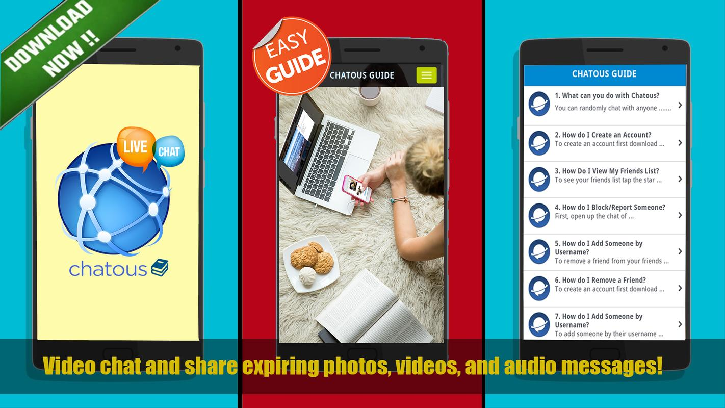 c7b00abdb900a Video Chat  Guía para CHATOUS for Android - APK Download