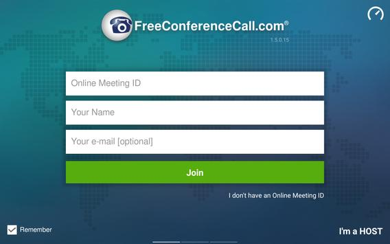 Free Conference Call screenshot 15