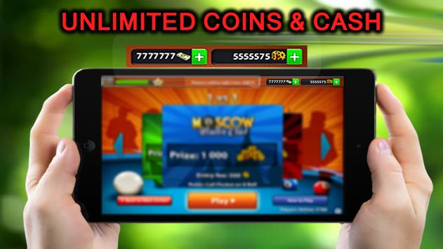 ✔ Unlimited 8 Pool Coins&Cash Advice for Ball Pool screenshot 1