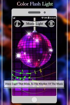 Light Flash - Led Color poster