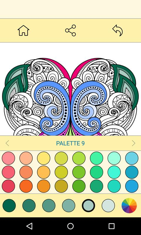 Free Coloring Book For Adults Apk Screenshot