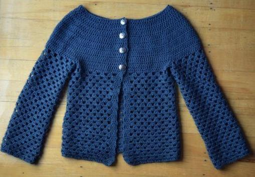 free crochet sweater ideas screenshot 3
