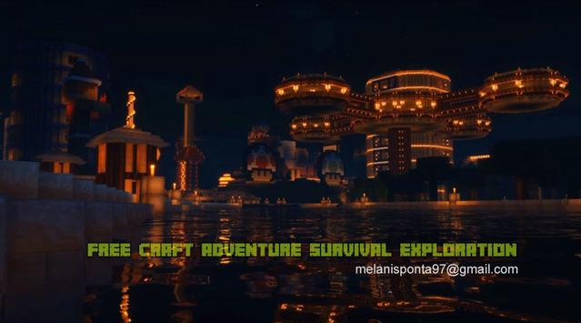 Free Craft Adventure Survival Exploration poster