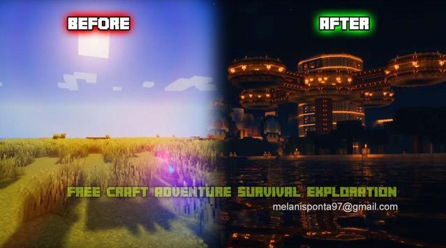 Free Craft Adventure Survival Exploration screenshot 2