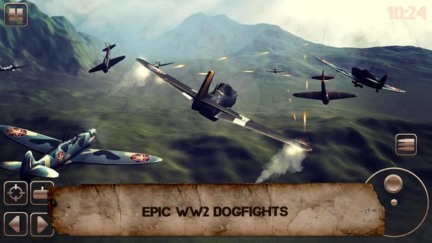 World War of Warplanes 2: WW2 Plane Dogfight Game screenshot 7