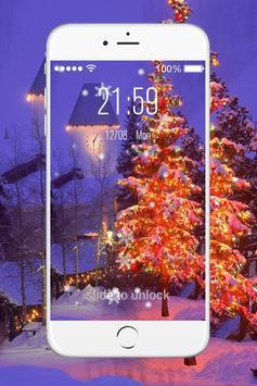Christmas Live Lock Screen screenshot 3