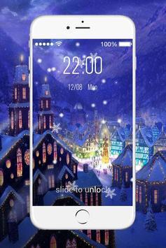 Christmas Live Lock Screen screenshot 2