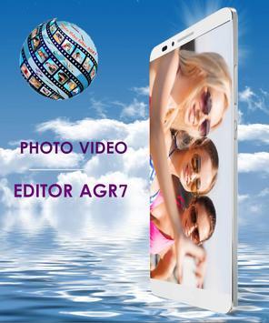 Photo Video Editor AGR7 screenshot 1