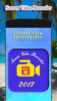 Screen video Recorder Free poster