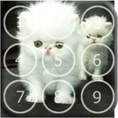 Kitty Cat Pin Lock Screen icon