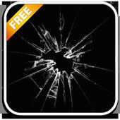 Glass break prank icon