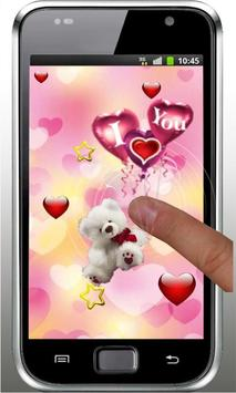 Bear Love Wish live wallpaper screenshot 4