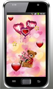 Bear Love Wish live wallpaper screenshot 2