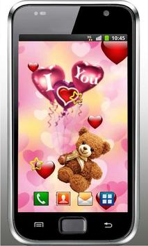 Bear Love Wish live wallpaper screenshot 3