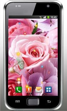 Flowers Love HD live wallpaper screenshot 3