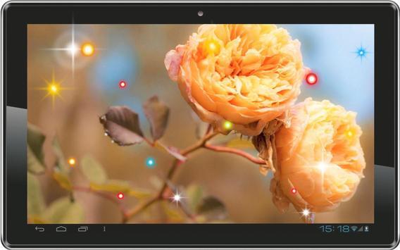 Flowers Love HD live wallpaper screenshot 1