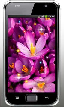Flowers Love HD live wallpaper screenshot 2