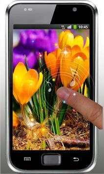 Flowers Love HD live wallpaper screenshot 4