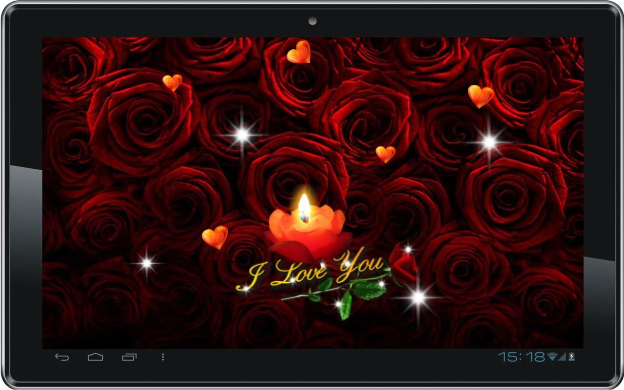 love candle hd live wallpaper apk download - free personalization