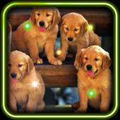 Puppies Voice live wallpaper icon