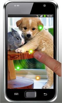 Puppies Voice live wallpaper screenshot 4