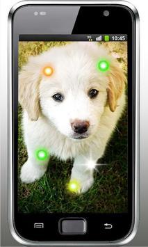 Puppies Voice live wallpaper screenshot 2