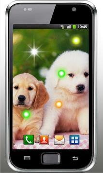 Puppies Voice live wallpaper screenshot 3