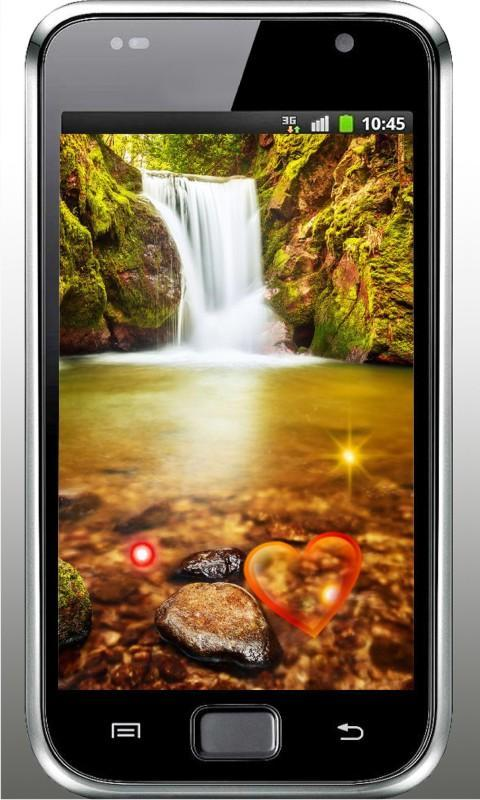 Waterfall Love Live Wallpaper For Android Apk Download