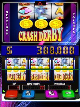 Crash Derby Slots App poster