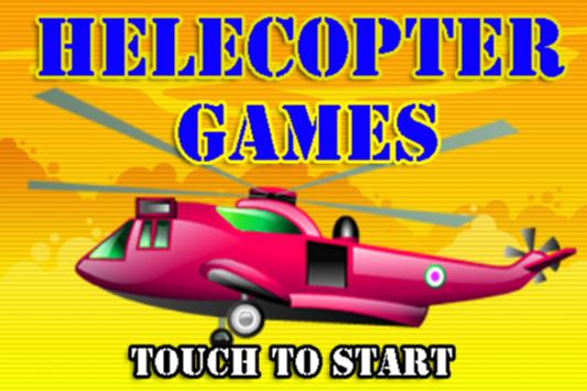 Helicopter Free For Kids - Flight Simulator Games poster
