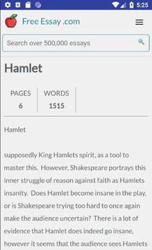 free hamlet essays term papers book reports for android   apk download  free hamlet essays term papers book reports