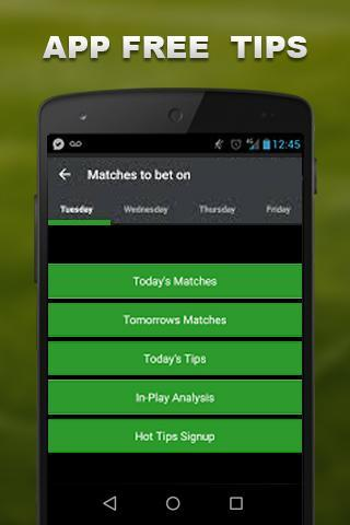 Free Football Betting Tips for Android - APK Download