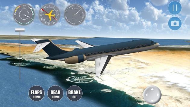 Dubai Flight Simulator apk screenshot