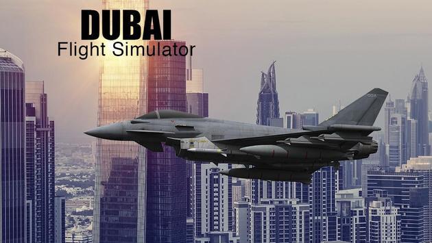 Dubai Flight Simulator poster