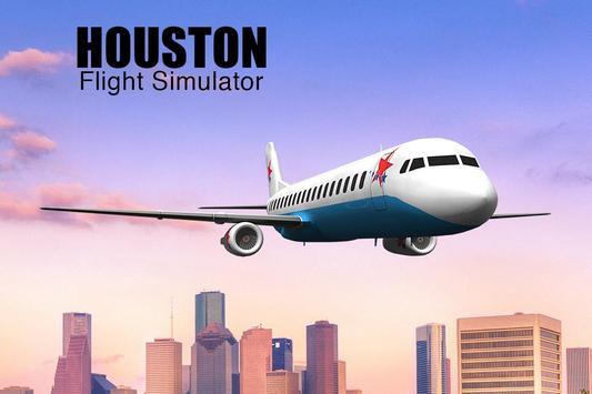 Houston Flight Simulator poster