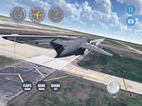 Houston Flight Simulator apk screenshot