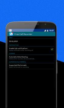 Free Call Recorder apk screenshot