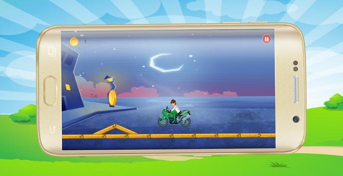 Ben Motorbike 10 apk screenshot