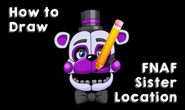 Learn How to Draw FNAF SL poster