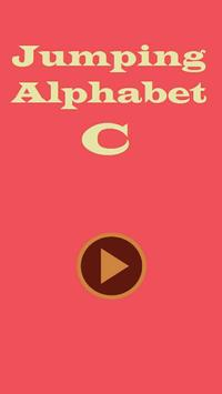 Jumping Alphabet C poster
