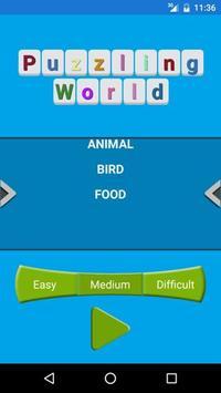 Puzzling World apk screenshot