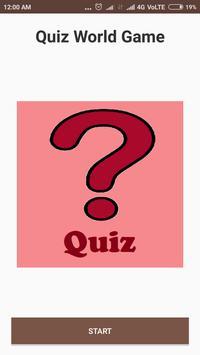 Quiz World Game poster