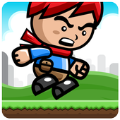 Angry Kid Jungle Line Runner icon